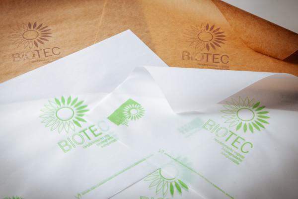 Paper parafinat per dues cares amb cera vegetal
