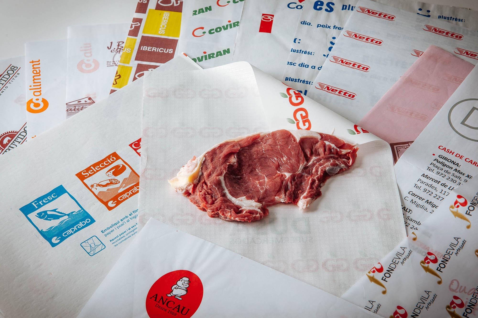 Plastificats impresos per a ús alimentari